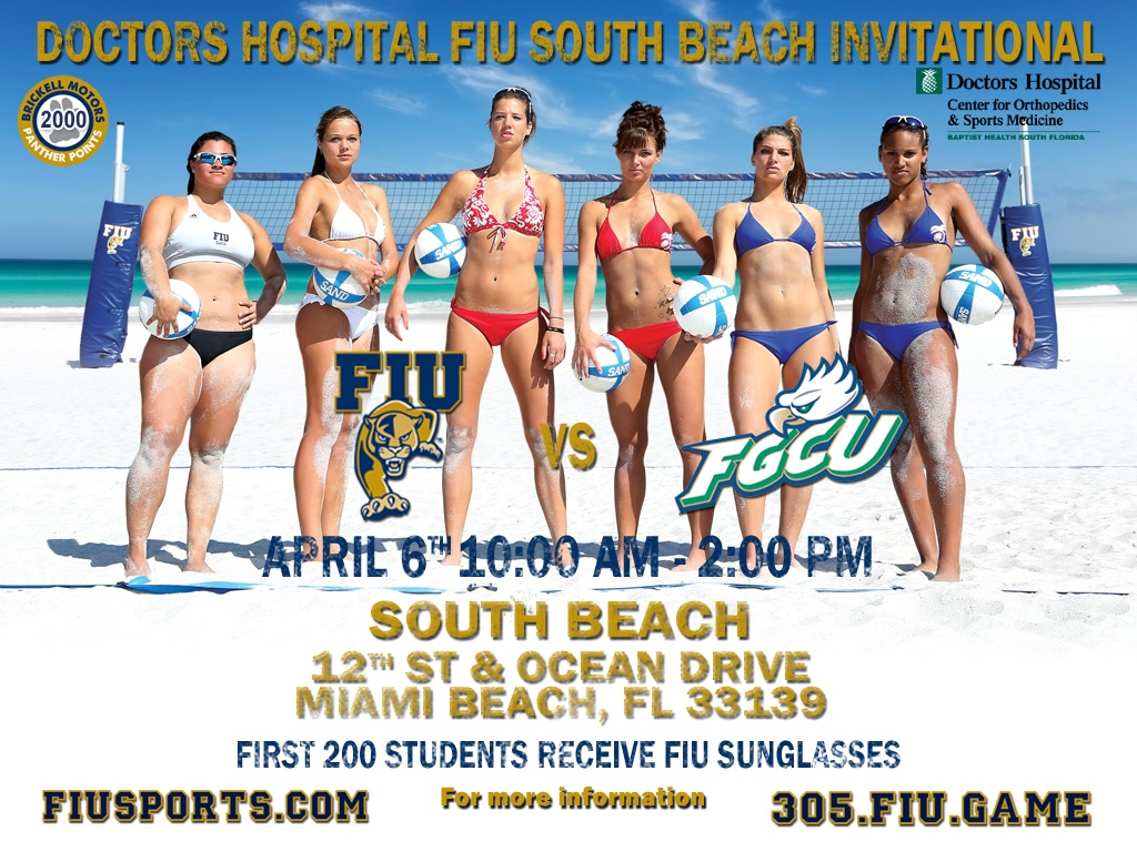 FIU Sand Volleyball Shaking It Up