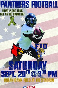 Florida International University Panthers Saturday S Giveaway At