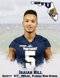 Florida International University Panthers Safety Isaiah Hill Joins